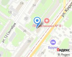 Компания Стеклопластика на карте города