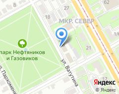 Компания ПрофСтрой на карте города