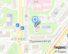 Компания VELUX на карте города