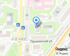 Компания Ставка 73 на карте города