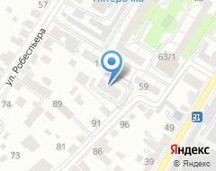 Компания Знак-Авто на карте города