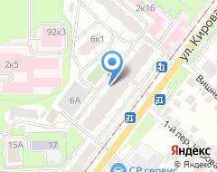 Компания Door Service на карте города