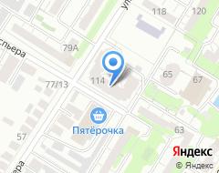 Компания Мастер металлоконструкций на карте города