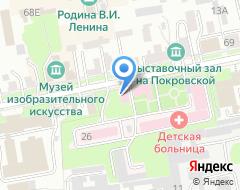 Компания Стройреал на карте города