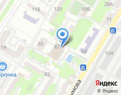 Компания УралТрансСтрой на карте города