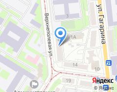 Компания МК-проект на карте города