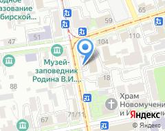 Компания Проф-Проект на карте города