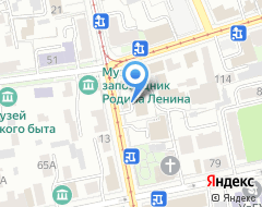 Компания Академ-тур на карте города