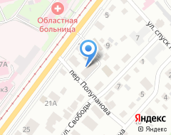 Компания Спецремстрой на карте города