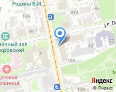 Компания ЮНИКОМ на карте города