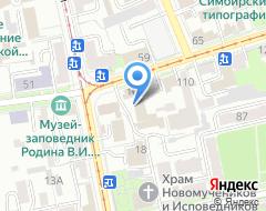 Компания Рекорд-М на карте города