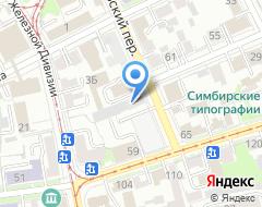 Компания РосСтрой на карте города