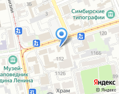 Компания Капремонт73 на карте города