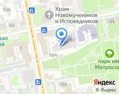 Компания Геозем-Сервис на карте города