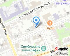 Компания СтройИнжиниринг на карте города