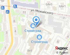 Компания Сеть магазинов входных дверей на карте города