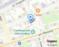 Компания Симбирскстройсервис на карте города