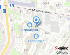 Компания Стеклодизайн на карте города