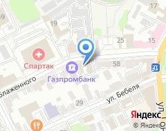 Компания Стройзаказчик, МБУ на карте города