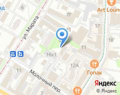 Компания Технострой на карте города