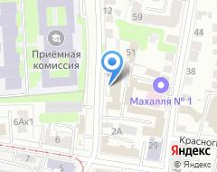Компания Ульяновскводоканал на карте города