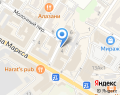 Компания БТИ г. Ульяновска на карте города