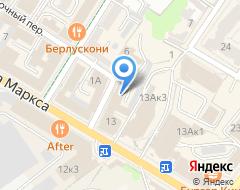Компания Бюро технической инвентаризации, ОГУП на карте города