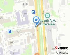 Компания Кровельные работы в Ульяновске на карте города