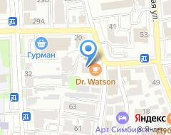 Компания Фаворит-Транзит на карте города