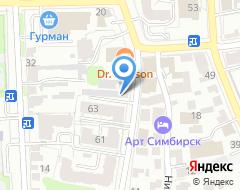 Компания ВО Дизайн на карте города