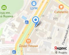 Компания Анастасия на карте города