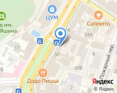 Компания Ульяновское предприятие противооползневых работ, МКУ на карте города
