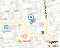 Компания АкваСервис73 на карте города