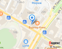 Компания Честное на карте города