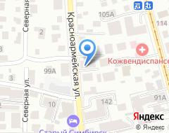 Компания Профстайл на карте города