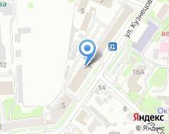 Компания Газпром теплоэнерго Ульяновск на карте города