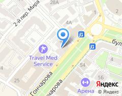 Компания ИСстрой на карте города