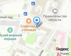 Компания Производственная компания на карте города