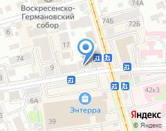 Компания Вид на карте города