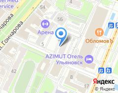 Компания Ульяновск-Основа на карте города