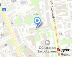 Компания ЦЕНТР НЕДВИЖИМОСТИ на карте города
