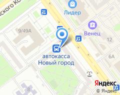 Компания Стройспецстекло на карте города