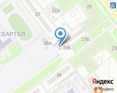 Компания Алексеевский на карте города
