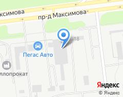 Компания Ульяновскдорстрой на карте города