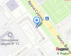 Компания Мир жилья на карте города