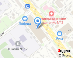 Компания Барьер на карте города
