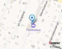 Компания Приморская на карте города