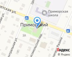 Компания Приморские зори на карте города