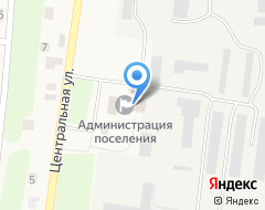 Компания Администрация сельского совета пос. Соловьёвка на карте города