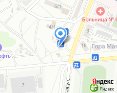 Компания АЗС Маяк на карте города